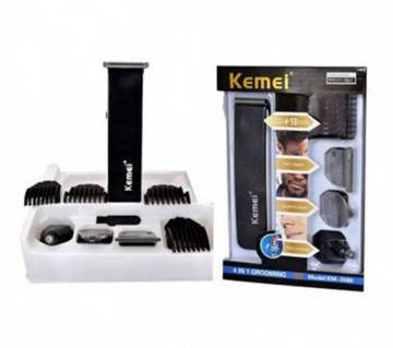 Kemei KM-3580 4 In 1 Grooming ট্রিমার এবং সেভার সেট