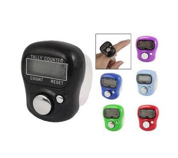 5-Digit Digital Ring Finger Hand Tally
