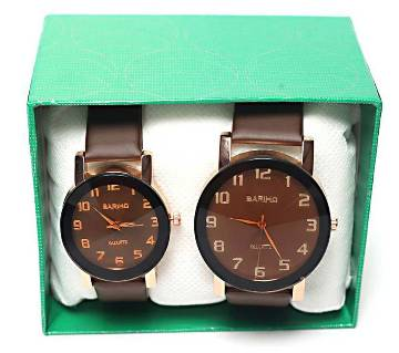 Bariho Valentine Couple Wrist Watch Combo Offer
