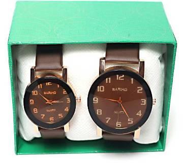 Bariho Couple Wrist Watch Combo Offer-01