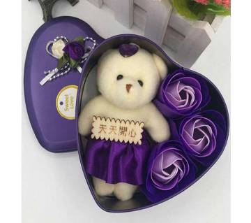 Sweet Love Aluminium Valentine Gift Box Set-Violet