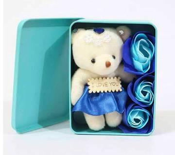 Panda Doll & Soap Valentine Gift Set