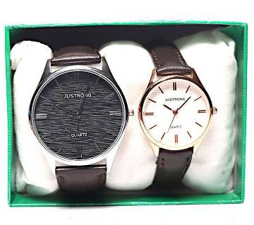 Valentine Couple Wrist Watch Combo Offer