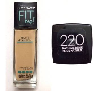 Maybelline FIT ME Foundation Dewy+Smooth -shad 220