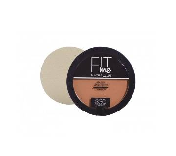 FIT ME® MATTE + PORELESS POWDER The Toffee shade 14g UK