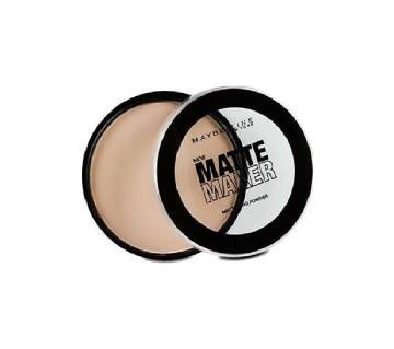 Maybelline Matte Maker Mattifying Powder 20 Nude Beige 16g UK