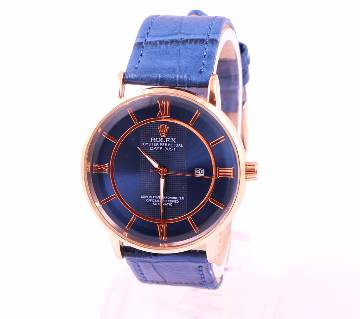 ROLEX Blue Analog Watch for Men copy