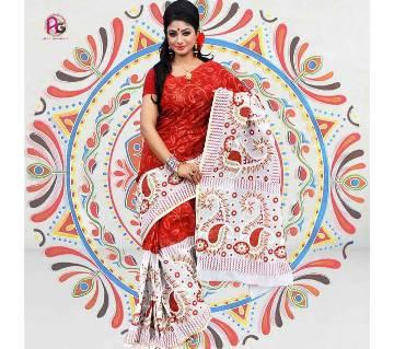 Screen Boutiques Cotton Saree