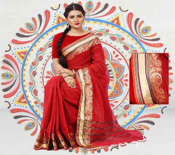Soft Tangail Cotton Saree