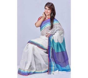 Pure soft tosor silk sharee