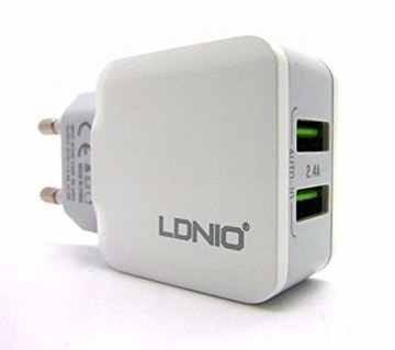 LDNIO 2.4A fast charger for ios & Android