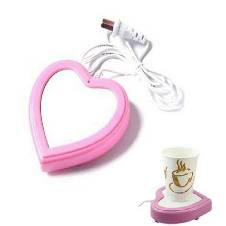 heart shaped USB cup warmer
