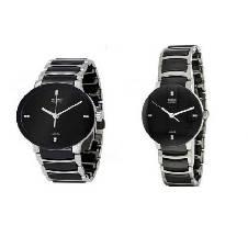 Rado Gents Wrist Watch (Copy) + Rado Ladies Wrist Watch (Copy) Combo Offer