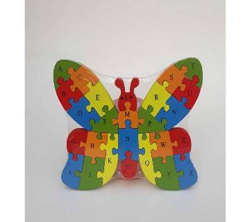 BUTTERFLY SHAPE WOODEN PUZZLE