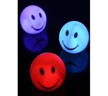 Color Changing LED Smiling Face