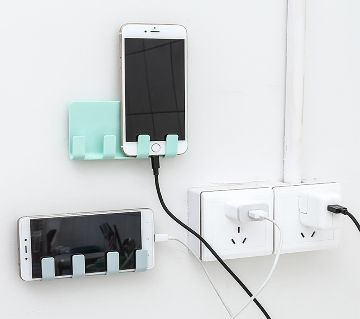 Wall Phone Holder Socket Stand Holder