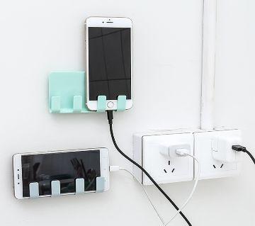 Wall Phone Holder Socket Stand Holder