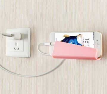 Wall Phone Socket Stand Holder
