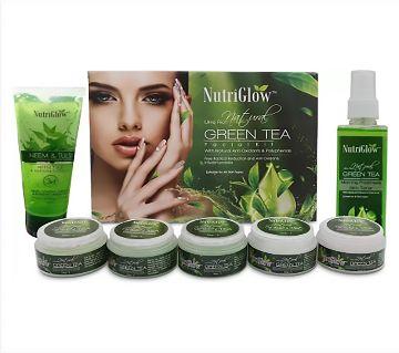 NutriGlow Green tea facial kit / Neem Tulsi-(450ml)-India