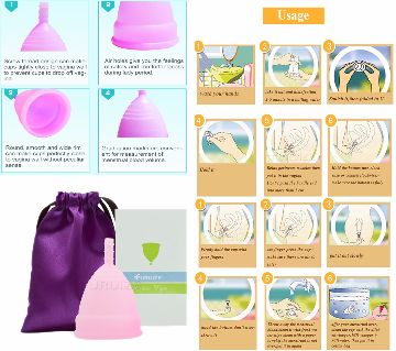 Menstrual cup for Women Feminine hygiene