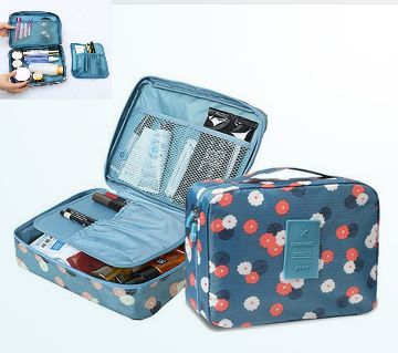 Brand Beautician Nylon Waterproof Cosmetic Bag