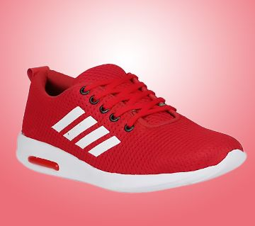 Bachini Red Sports Running Shoes For Men