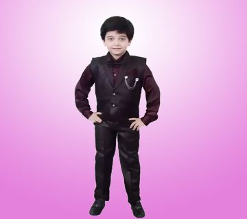 Boys Shirt, Pant, Jacket, Bow