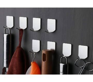 Stainless Steel Holder Hook Hanger Hooks (3Pcs)