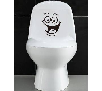 Smile Funny Bathroom Wall Stickers
