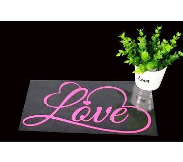 Romantic Love Wall Sticker