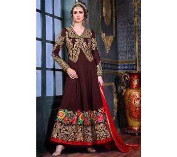 shahina un stitched Georgette salwar kameez
