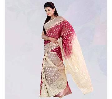 Pure Silk Jamdani sharee