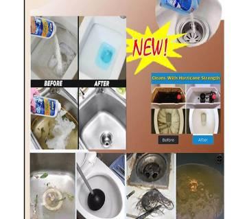 Besin sink toilet block cleaning powder