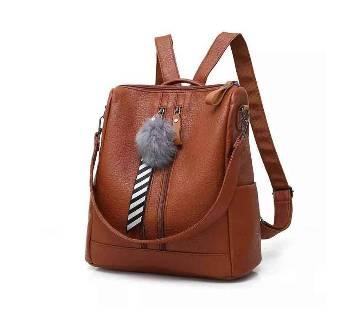 Black exclusive Women Backpack and Handbag (1806 Black)