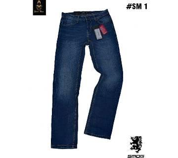 Smog Jeans স্ট্রেইট ফিট জিন্স প্যান্ট