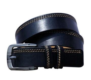 leather formal men