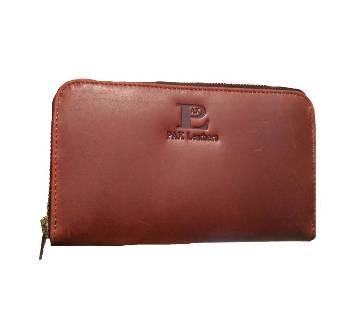 ladies leather smart purse