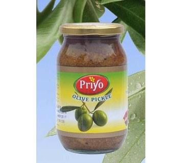 Priyo অলিভ পিকল (৪০০ গ্রাম)
