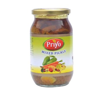 Priyo Mixed Pickle (400 gm)