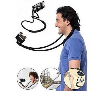 Flexible Mobile Phone Holder Necklace Long Arm neck