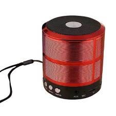 YST-888 Mini Bluetooth Speaker SD USB Aux Fm ( Red )
