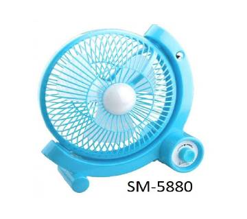SM- 5880 Rechargeable Multi Speed Table Fan