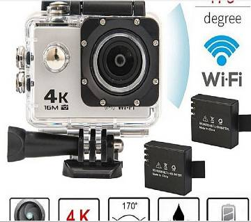 4K Wifi Action Camera 16 MP