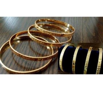 City Gold Zinc alloy bangles (2pis)