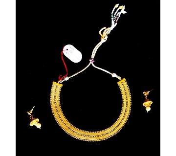 City Gold necklace set