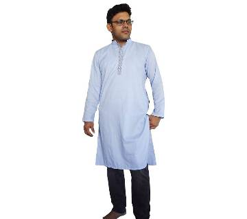 gents cotton semi long punjabi
