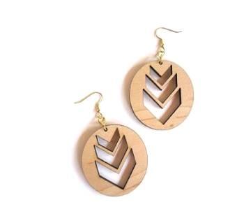Armenian wooden Earrings