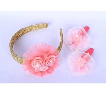 Rose Hair clip and hair band