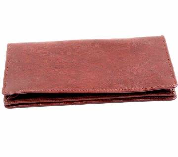 Gents Long Shaped Leather Wallet