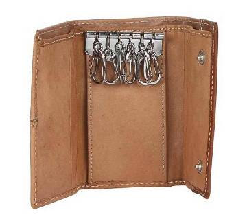 Leather Key ring cum wallet